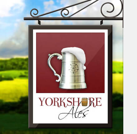 The Yorkshire Ales sign and logo as it appears on their website