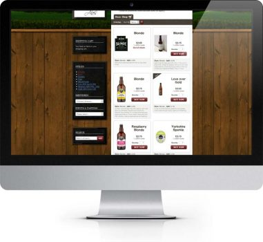 Yorkshire Ales, E-commerce Site, Snaith, Selby