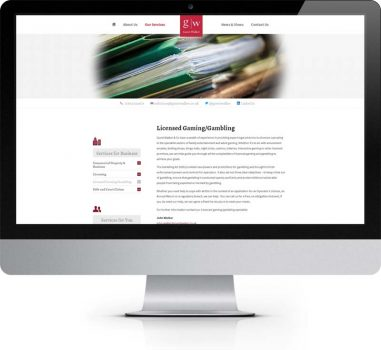 Guest Walker - York - Bespoke Web Design