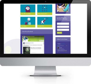 Approachable Accountants Easingwold York - Bespoke Web Design