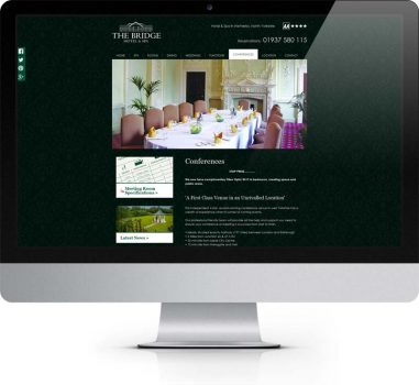 The Bridge Wetherby - Bespoke Web Design York