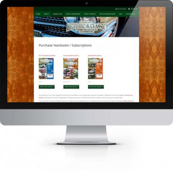 Morgans Yearbook York - Purchase Books - Ecommerce Web Design