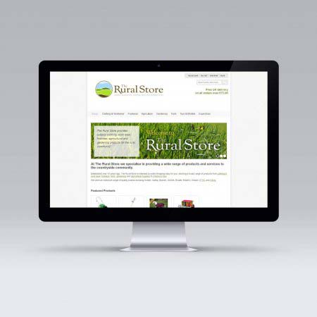 The Rural Store Website, Pickering, North Yorkshire