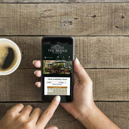 The Bridge Hotel Mobile Website, Walshford, Wetherby