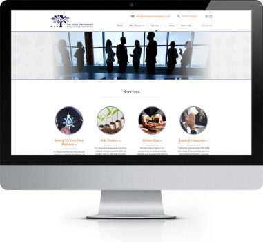 The Jones Partnership Pickering North Yorkshire - Bespoke Web Design