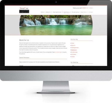 ShawCare Cleaning Services Wetherby - Bespoke Web Design