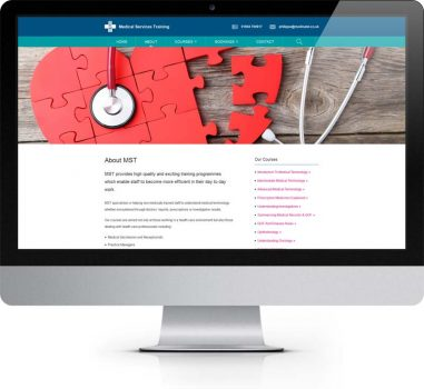 MST York - Bespoke Web Design