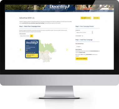 On Your Doorstep - Advertsie With Us