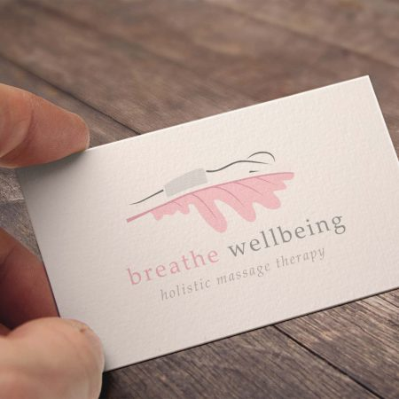 Breathe Wellbeing Logo Design, Selby