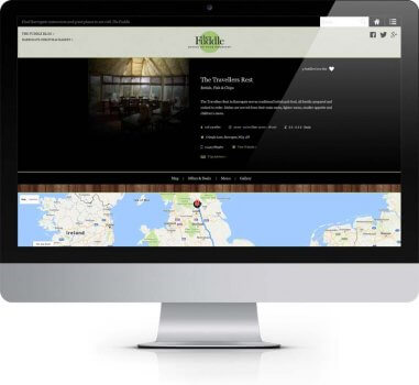 The Fuddle Harrogate - Bespoke Web Design