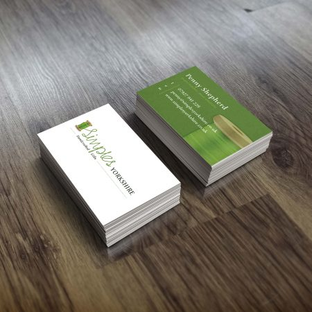 Simples Yorkshire Business Cards, Selby